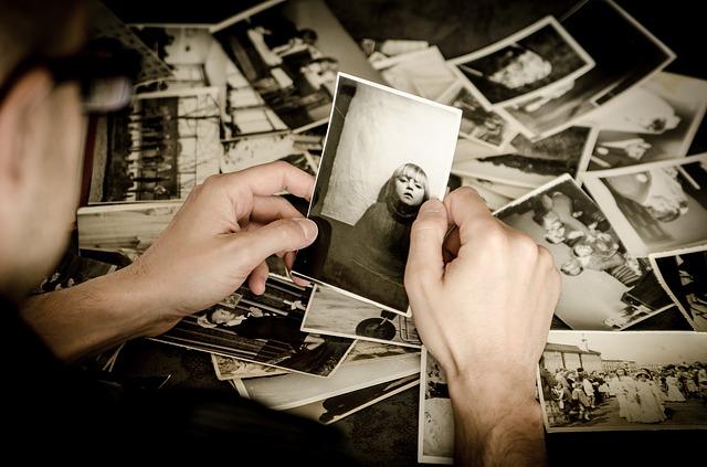 stapel foto's